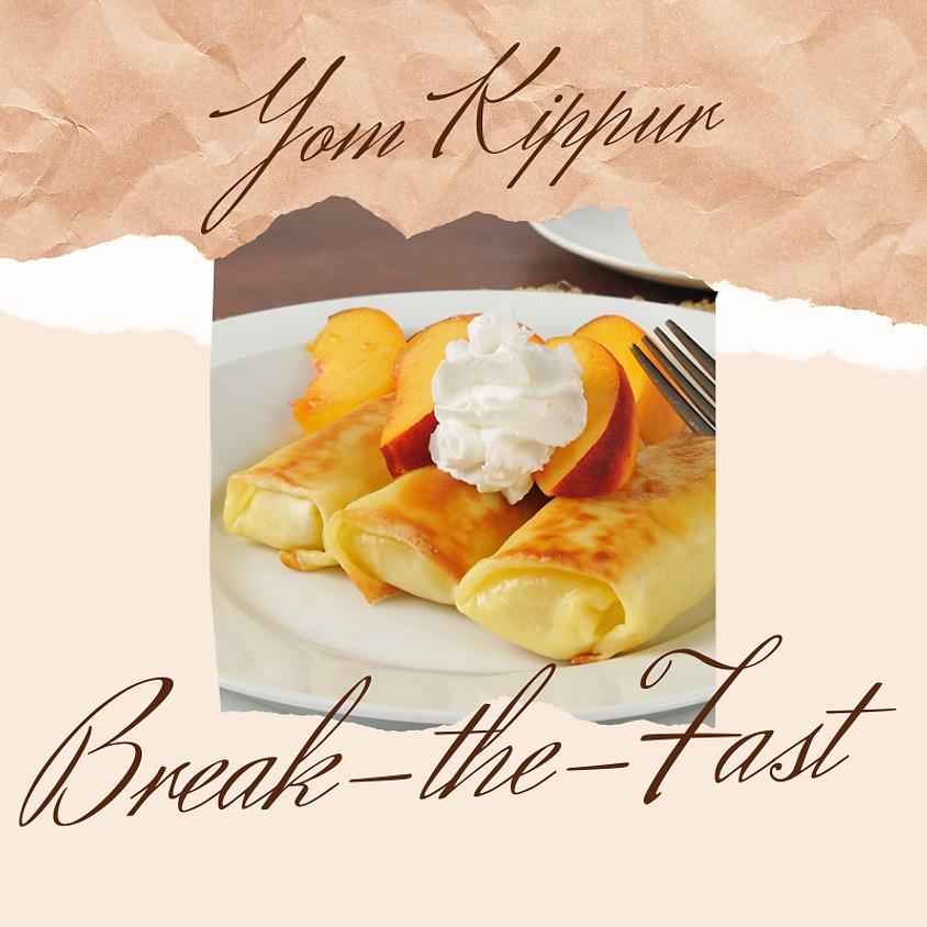 Yom Kippur Break the Fast