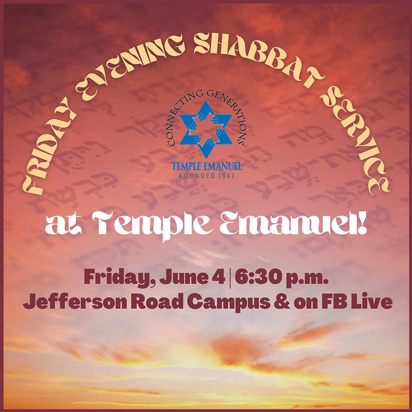 Friday Shabbat Service  (06/04/21)