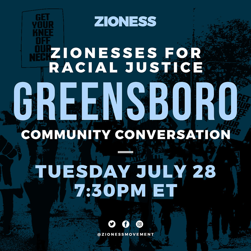 Zioness Conversation on Racial Justice