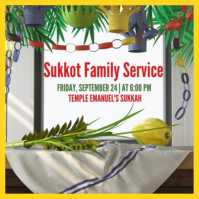 Sukkot Family Service