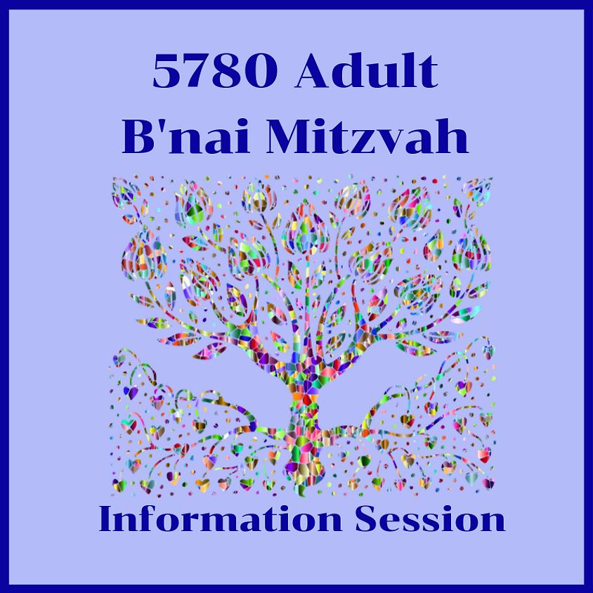 Adult B'nai Mitzvah Information Session
