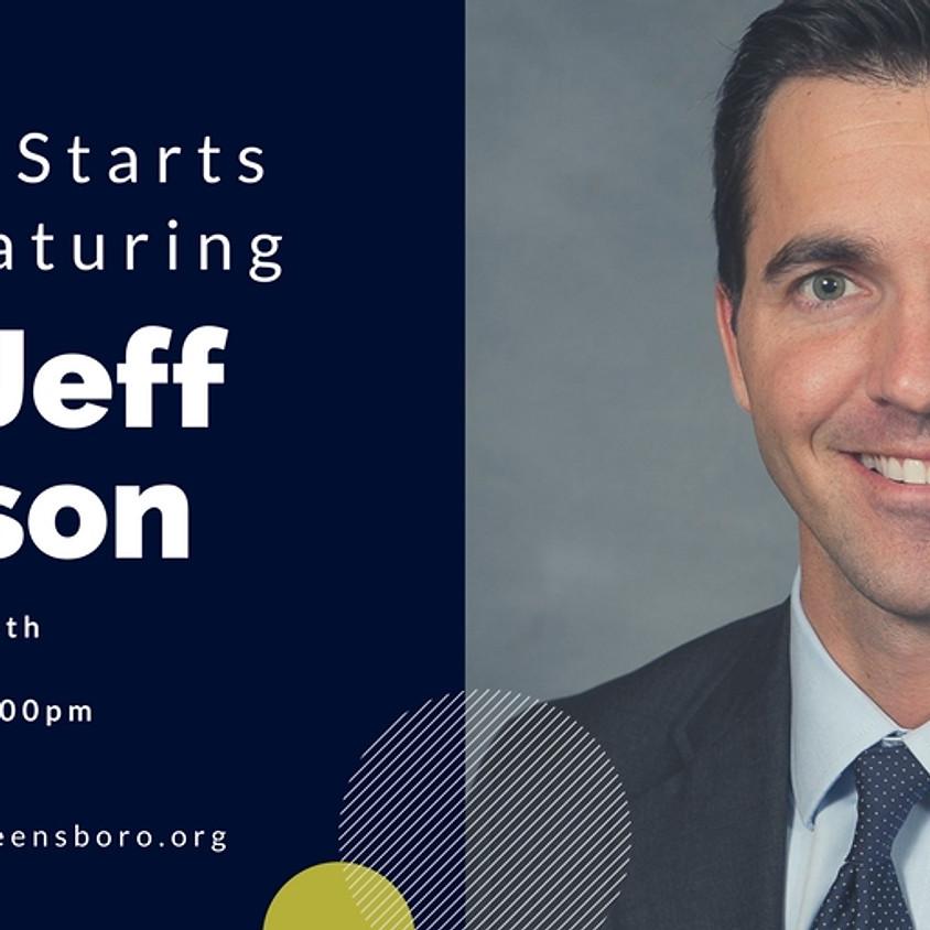 Shabbat Starts Here Featuring State Senator Jeff Jackson