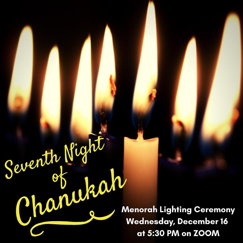 7th Night of Chanukah Menorah Lighting Ceremony