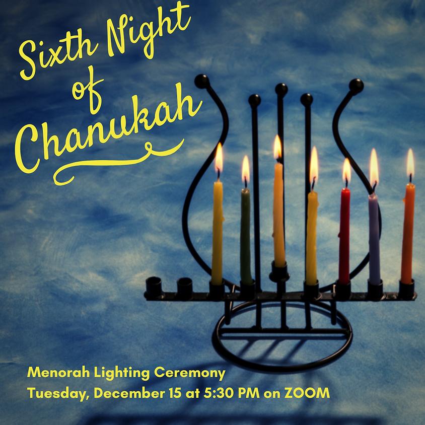 6th Night of Chanukah Menorah Lighting Ceremony