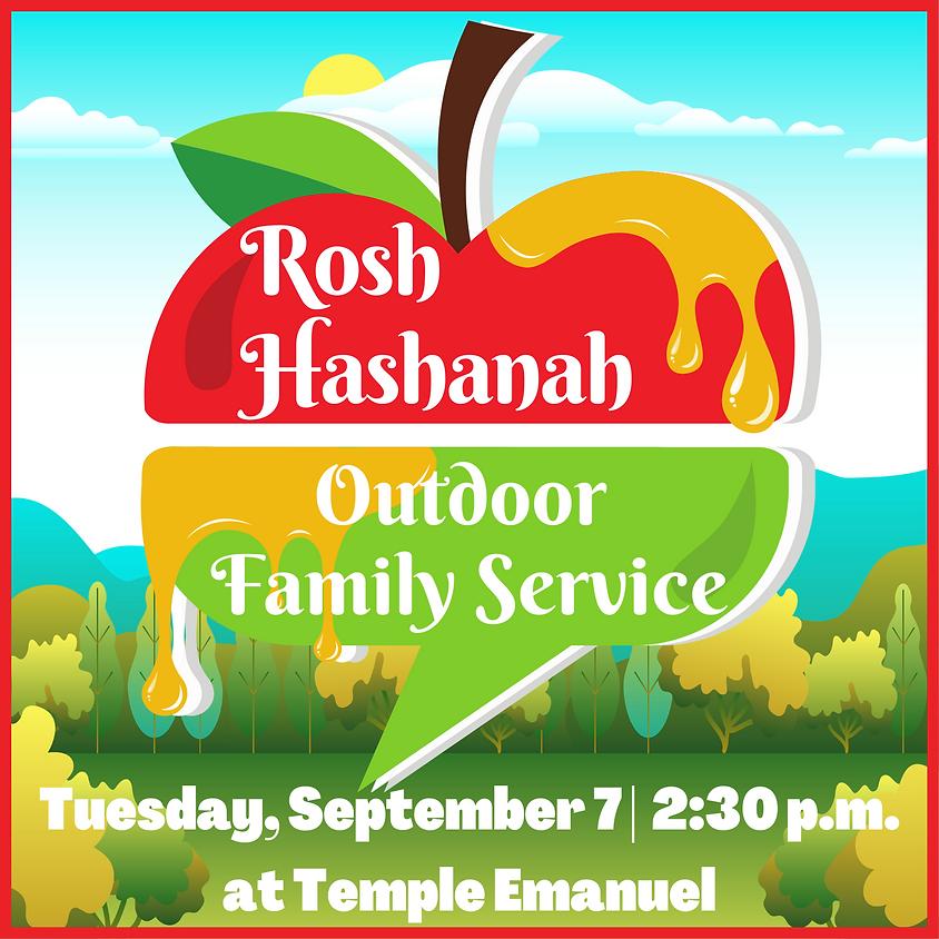Rosh Hashana Outdoor Family Service