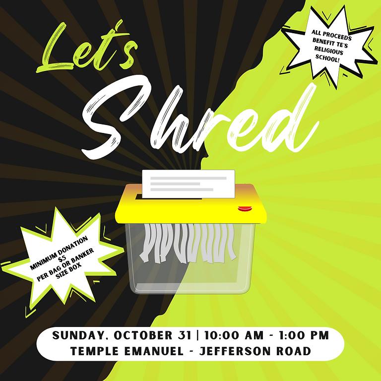 Let's Shred
