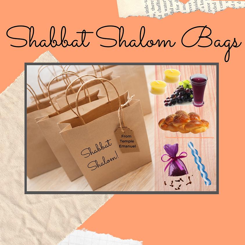 Shabbat Shalom Bags