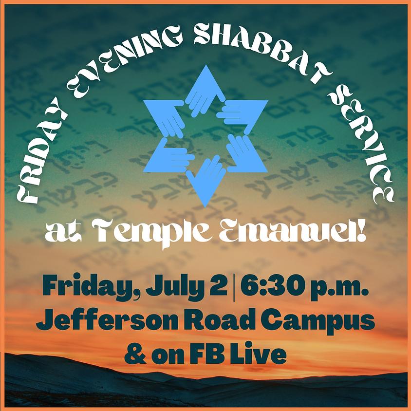 Friday Shabbat Service  (07/02/21)