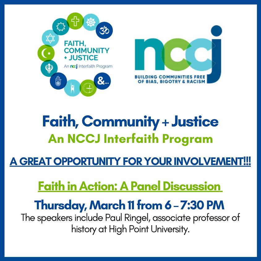 Faith, Community + Justice: An NCCJ Interfaith Program