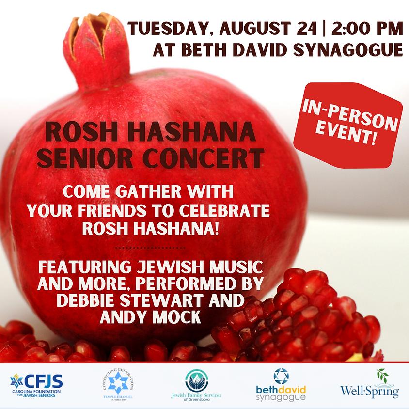 Rosh Hashana Senior Concert