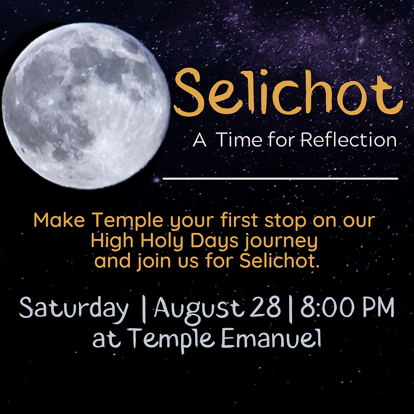 Selichot: A Time for Reflection