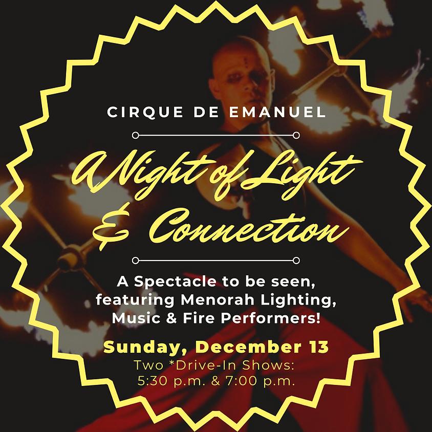 Cirque De Emanuel: A Night of Light & Connection