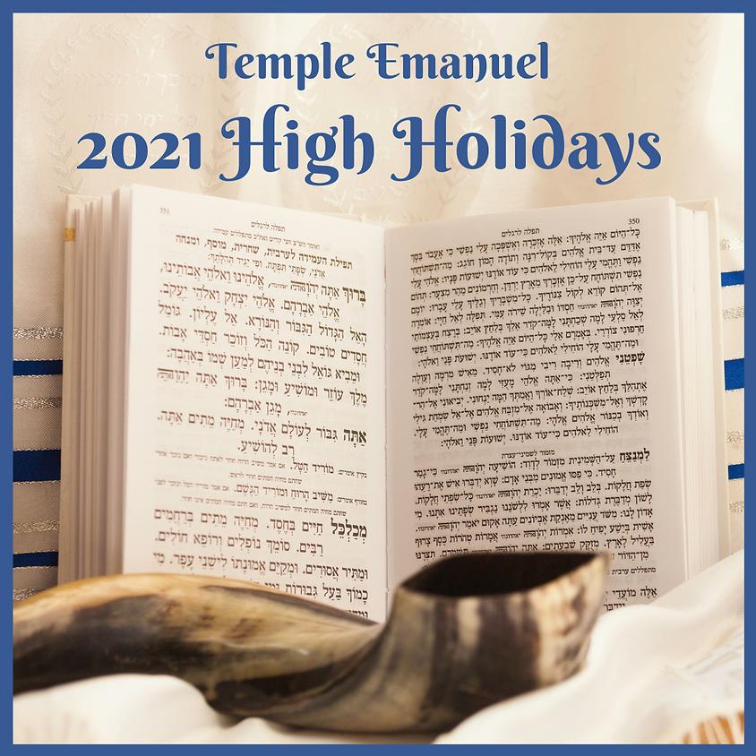 TE 2021 High Holidays