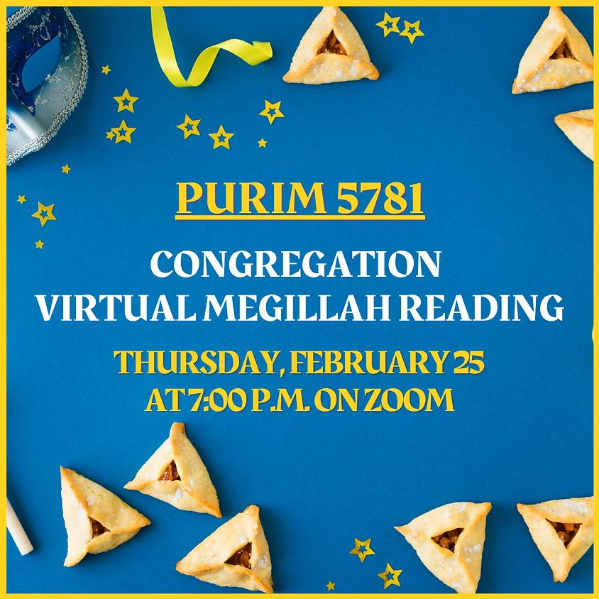 Congregation Megillah Reading