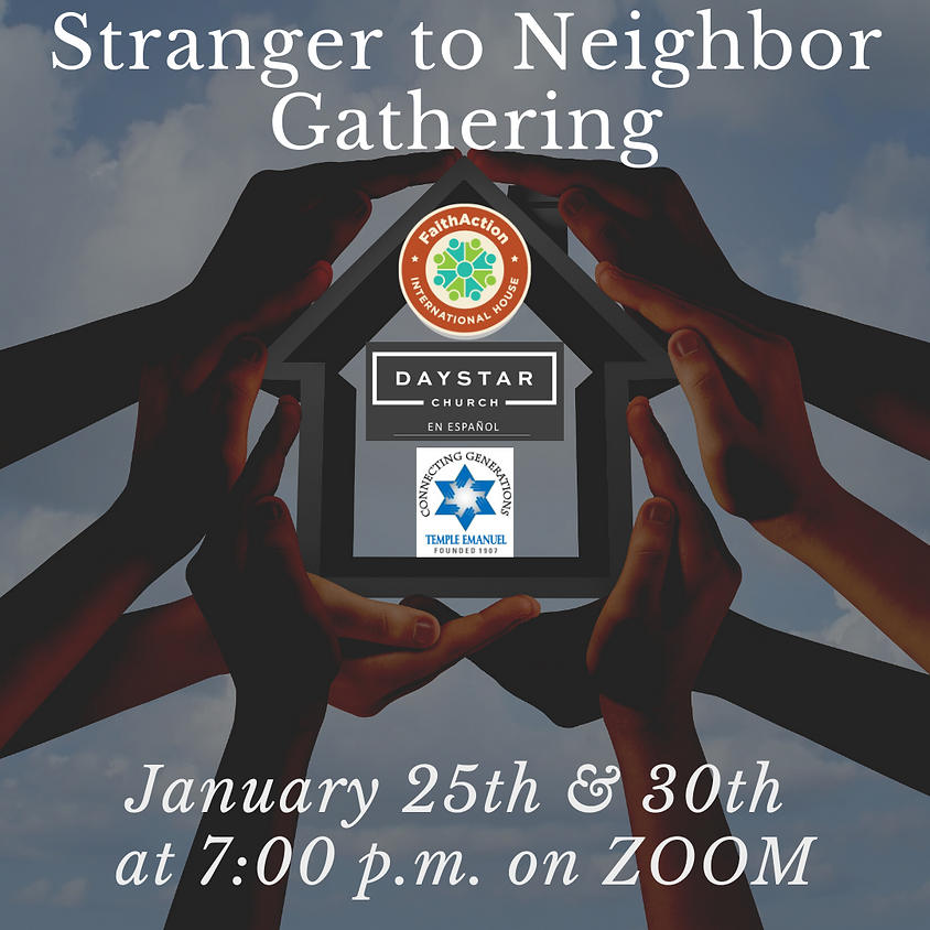 Stranger to Neighbor Gathering
