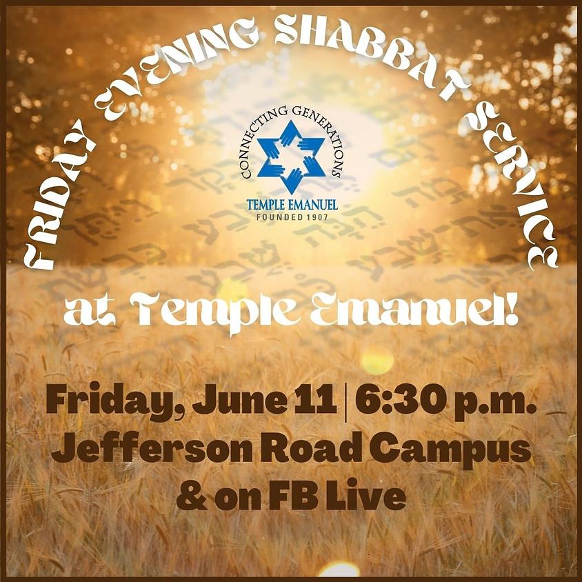 Friday Shabbat Service  (06/11/21)