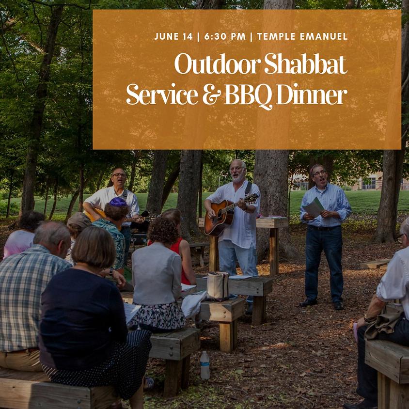 Outdoor Shabbat Service & BBQ Dinner!