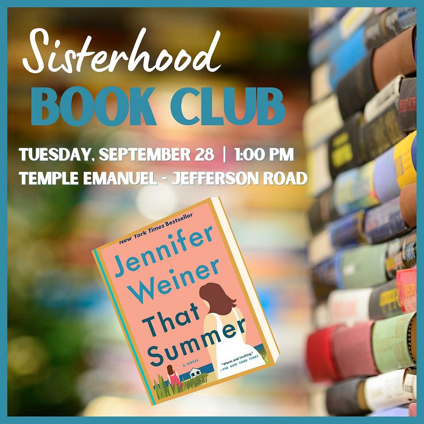 Sisterhood Book Club  in the Sukkah