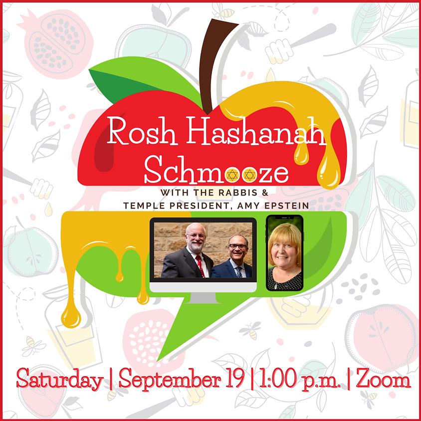 Rosh Hashanah Schmooze