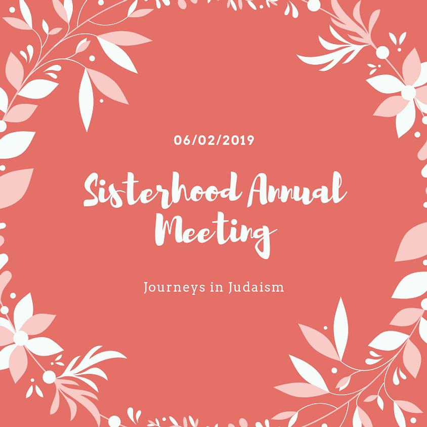 Sisterhood Annual Meeting