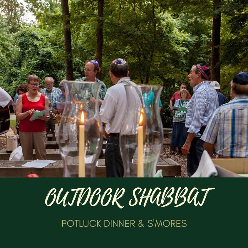 Outdoor Shabbat Service - Potluck Dinner & S'mores