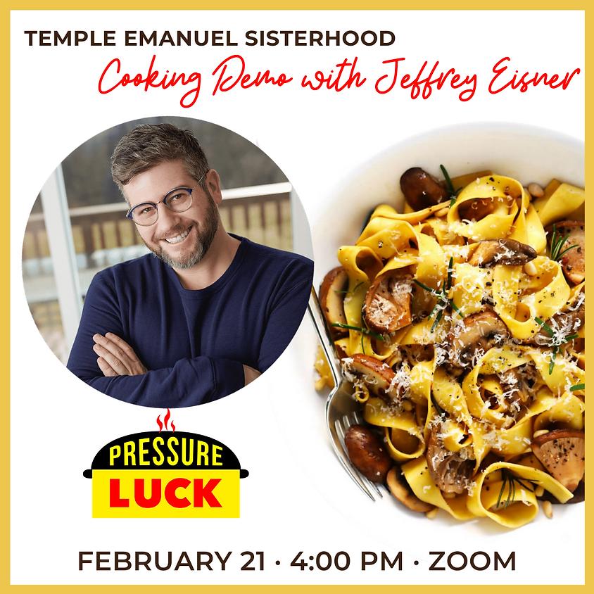 Cooking Demo with Jeffrey Eisner
