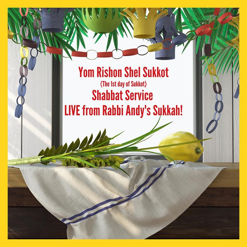 Shabbat Sukkot Service: LIVE from Rabbi Andy's Sukkah!
