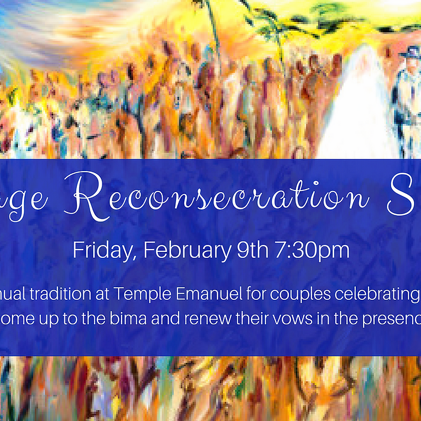 Marriage Reconsecration Service