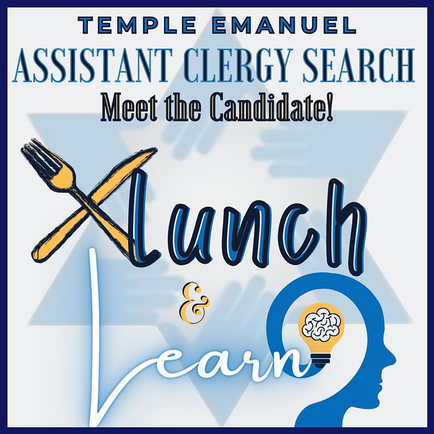 Temple Emanuel's Clergy Search: Meet the Cantorial Candidates