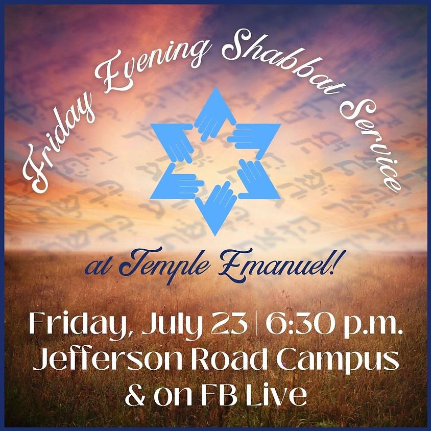 Friday Shabbat Service  (07/23/21)