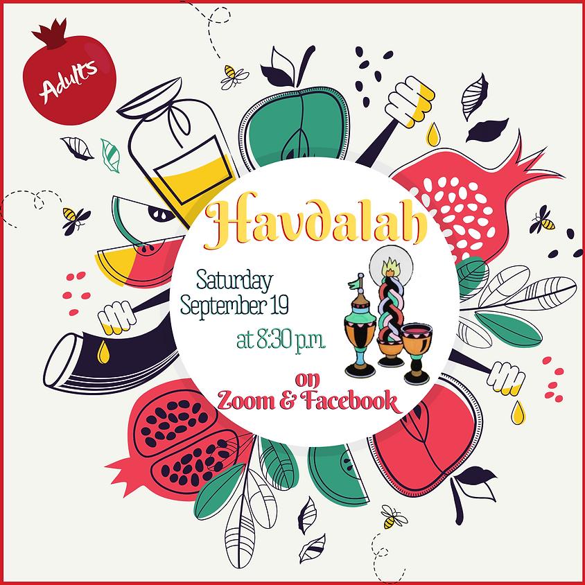 Rosh Hashanah Havdalah for Adults