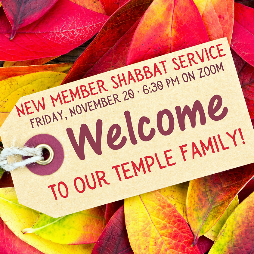 New Member Shabbat Service