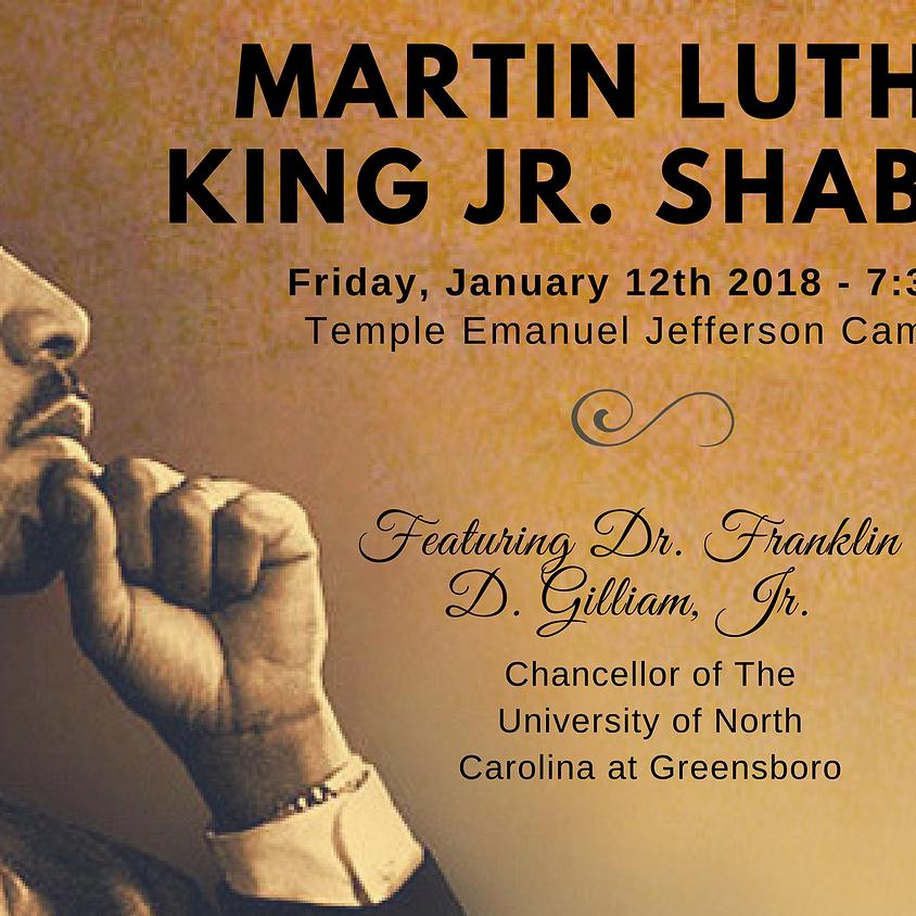 Martin Luther King, Jr. Shabbat