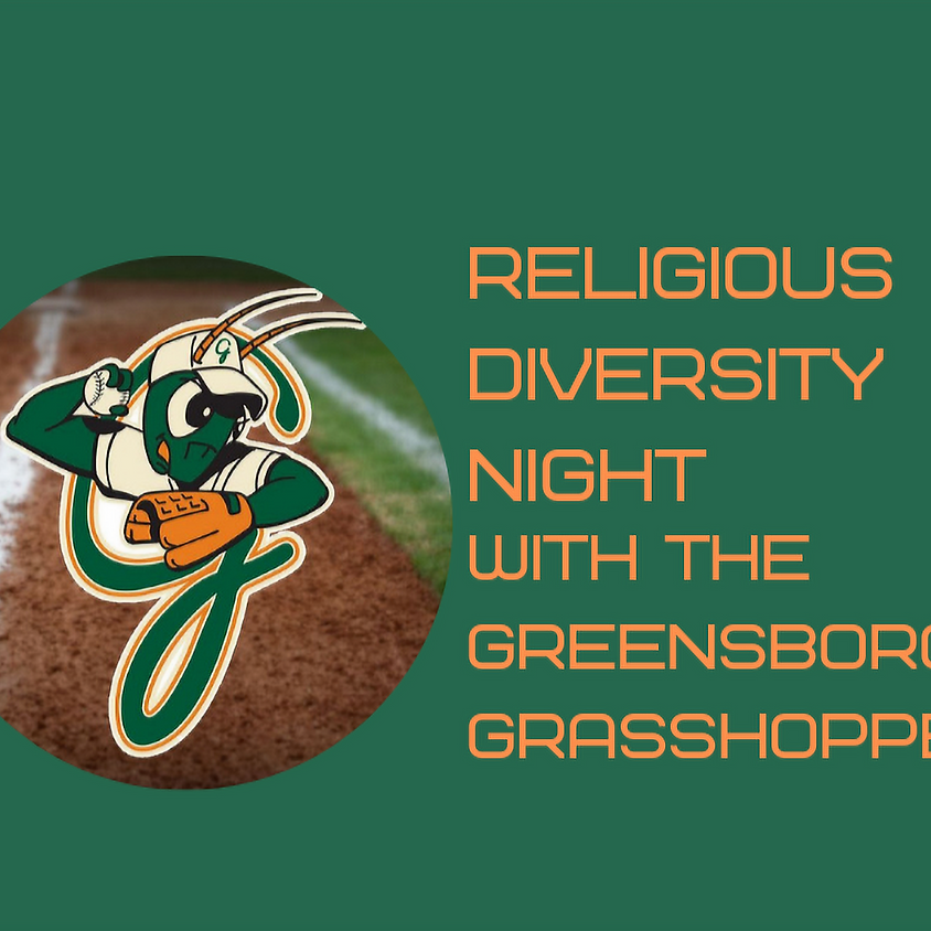 Religious Diversity Night with the Greensboro Grasshoppers