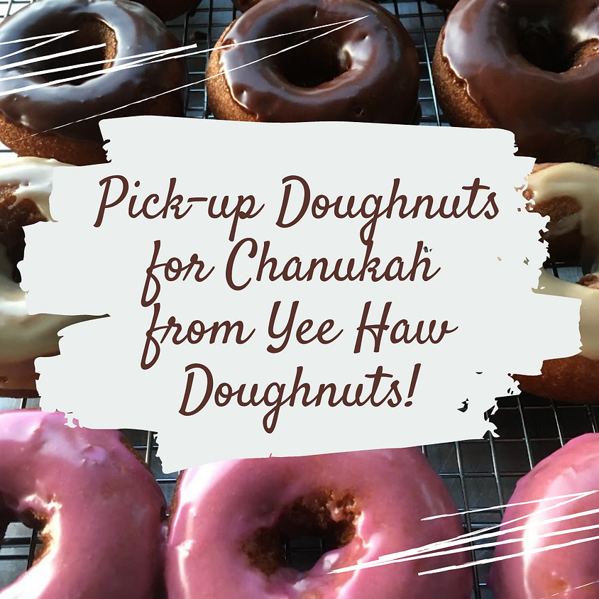 Pick-up Doughnuts for Chanukah from Yee Haw Doughnuts!