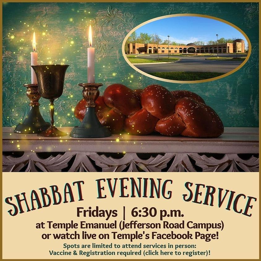 Friday Shabbat Service  (5/21/21)