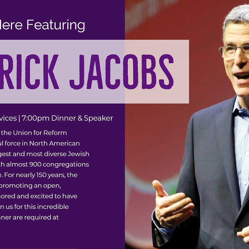 Shabbat Starts Here Featuring Rabbi Rick Jacobs  (1)