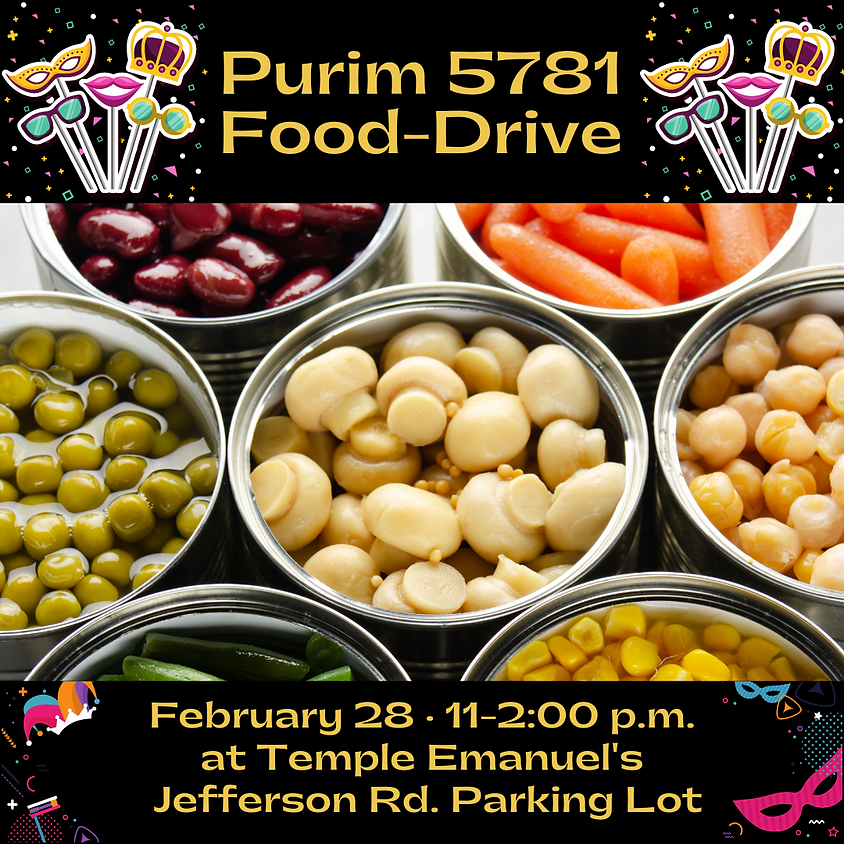 Purim 5781 Food Drive