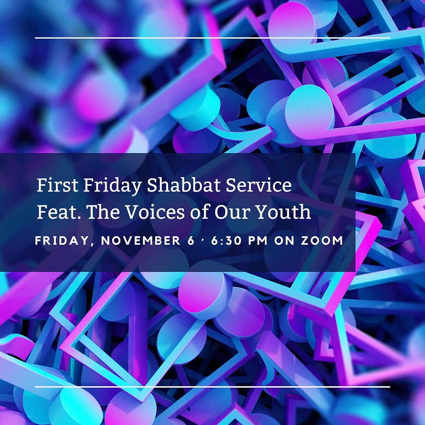 First Friday Shabbat Service