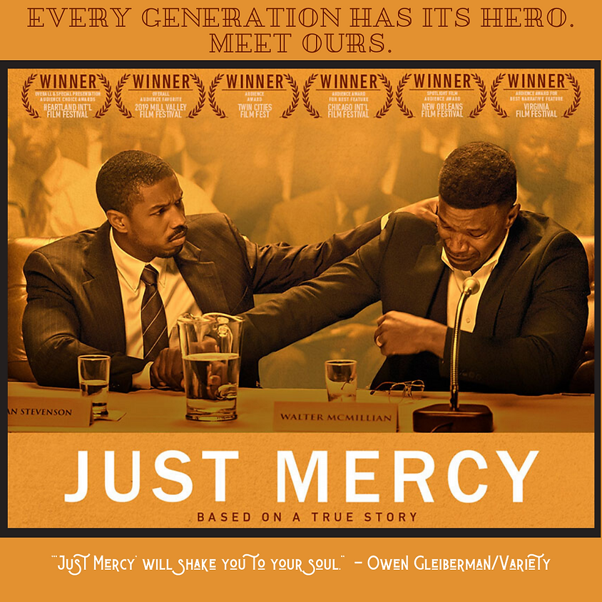 """""""Just Mercy"""" - Adult Discussion"""