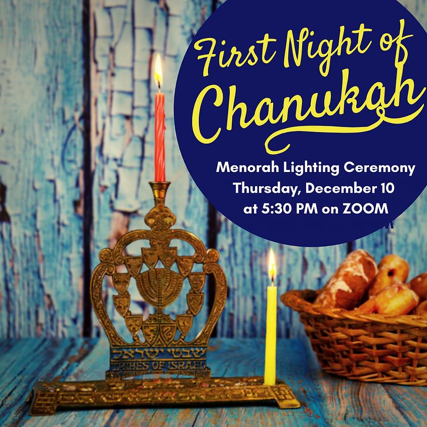 1st Night of Chanukah Menorah Lighting Ceremony