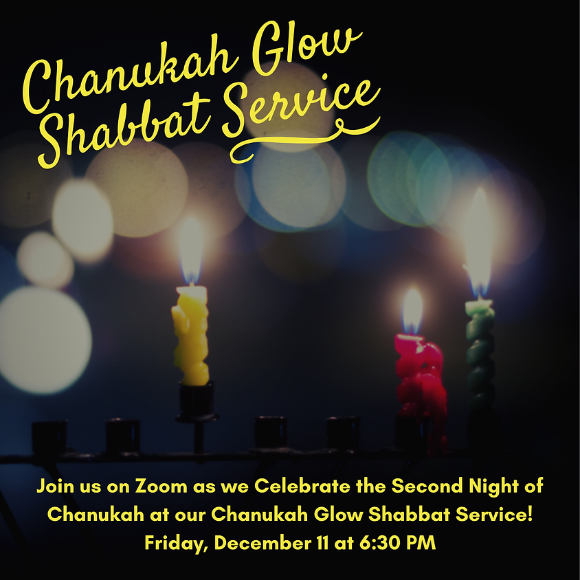 Chanukah Glow Shabbat Service