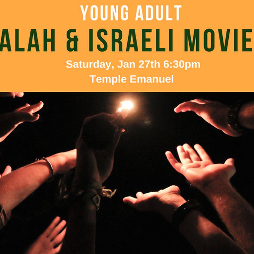 Young Adult Havdalah & Israeli Movie Night