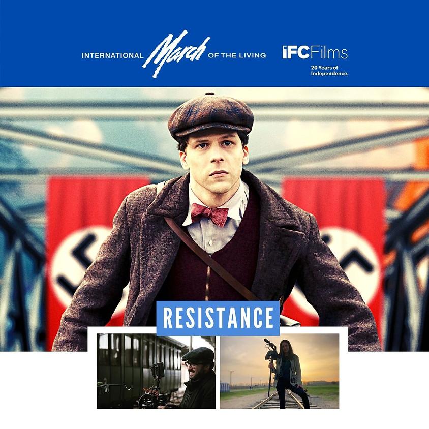 Resistance Conversation with Jesse Eisenberg and Jonathan Jakubowicz