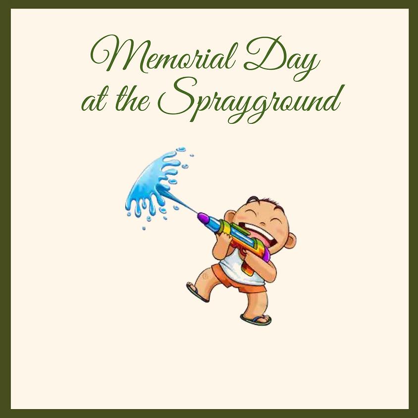 Memorial Day at the Sprayground