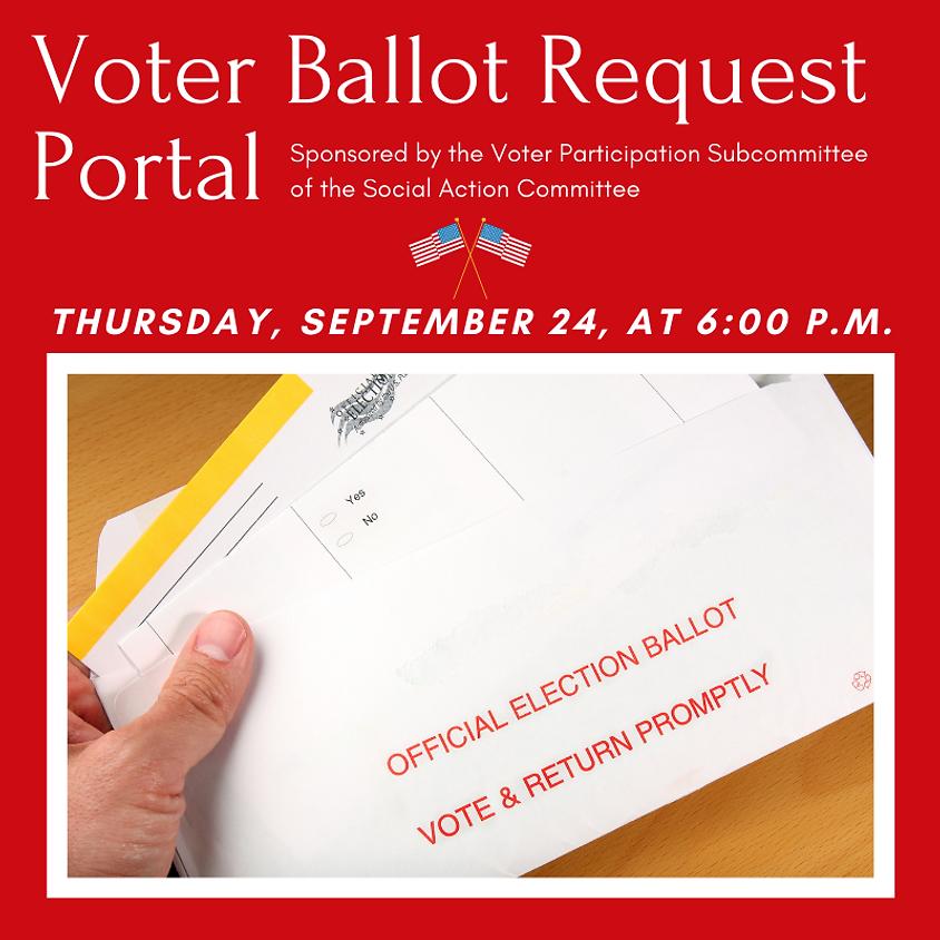 Voter Ballot Request Portal
