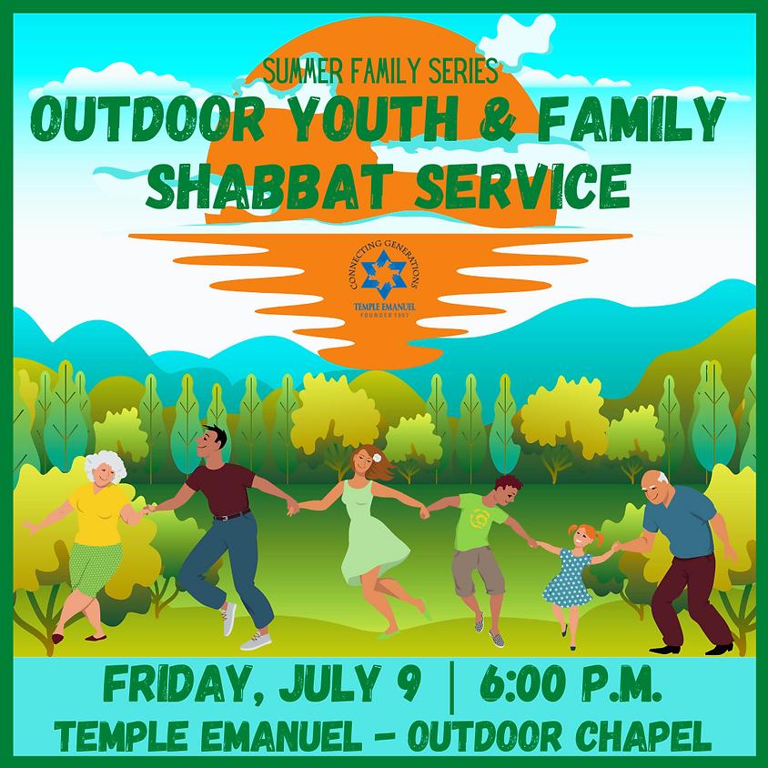 Outdoor Youth & Family Shabbat Service