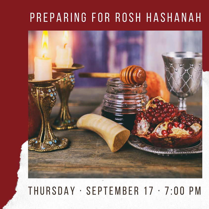 Preparing a Rosh Hashana Seder