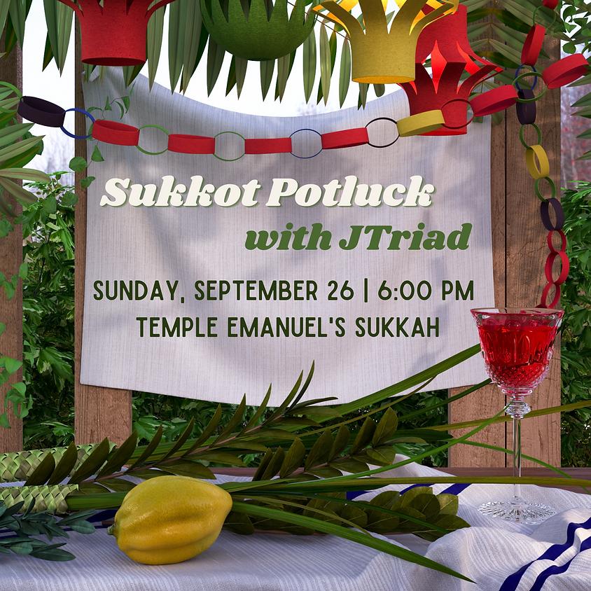 Sukkot Potluck with JTriad