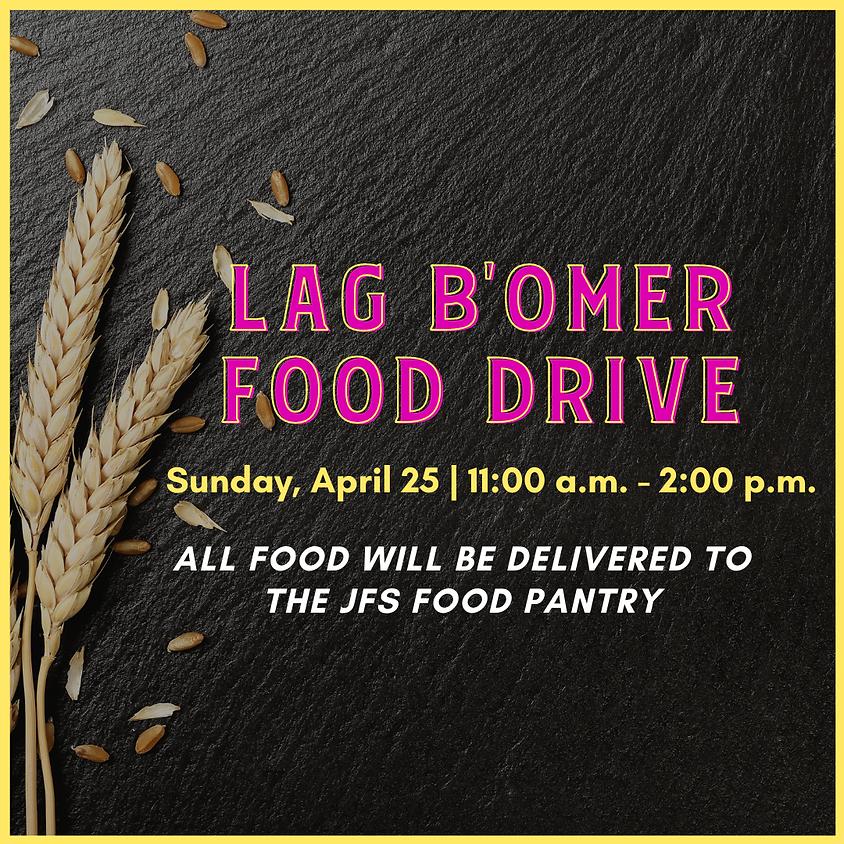 Lag B'Omer Food Drive